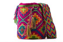 WORLD WAYUU / Wayuu bag has been hand knitted with 100% cotton thread by a member of the Wayuu tribe in the region of La Guajira, Colombia. The elaboration process for a bag lasts about 10 to 20 days, making each piece a unique and exclusive, using a technique that passes from generation to generation and is a key element of their culture. The Wayuu bag is inspired by colors and geometric figures that symbolize elements of nature that surround the daily life of the Wayuu.