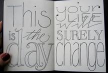 Inspiring letter styles