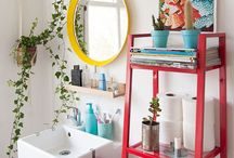 Colorful Bathroom Design / Bring the color back to the bathroom!