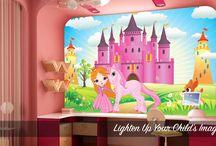 Kids Wall Murals / Transform your Children's bedroom with Wall Murals.
