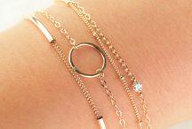 Modern minimalist bracelets