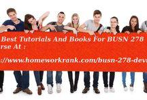 BUSN 278 Study material for DeVry University