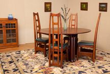 Arts& Crafts Movement / Designed and handcrafted by Peter Maynard
