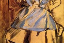 Degas / Artwork by Edgar Degas / by Shel Trost
