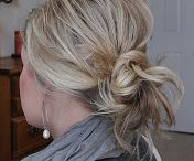 make up and hair styles  / favorites and ideas to try / by Amy Parker