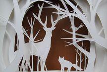 Paper Cutting/ Paper Art