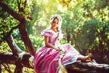 Femme en forêt très diff