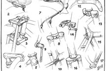 Bicycle technical drawings
