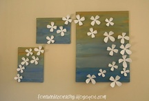 Canvas crafts and wall art / by Brandie Carriere