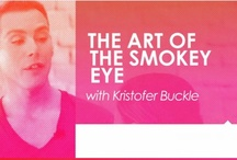 The Art of the Smokey Eye / Celebrity makeup artist Kristofer Buckle shows us how to master the smokey eye. See his full tutorial here (starting at 12:45): http://www.insidebeautiful.com/episodes/episode-3