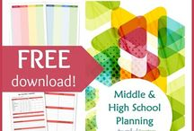 Home Schooling/Plans/Organization/Transcripts