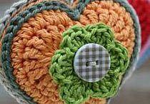 Crochet keychains