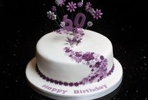 60th cake ideas