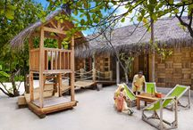 The Den / The place for our little VIP guests to play, learn, be creative, and Grow With Six Senses.