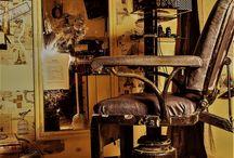 barber chair vintage Constanta