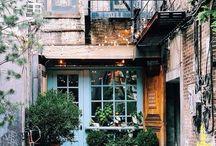 Extérieurs inspirations / Des idees inspirations pour ses espaces extérieurs, jardins ou devantures de boutiques