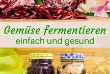 Einmachen/fermentieren usw