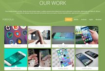 ! references / photogallery / our work - webdesign block