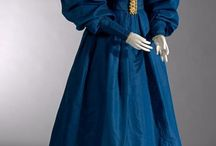 1830s - Romantic era garments /