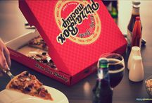 pizza krabice