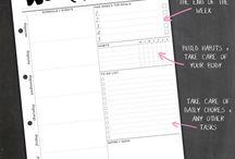 Week Planner / Calendar