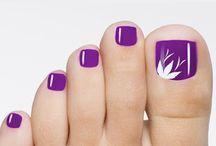 Nail designs Πόδια