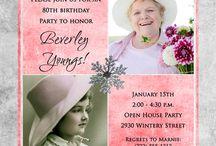birthday parties / by Courtney Pempeit