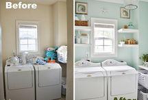 Laundry room makeover / by Jennifer Trzeciak