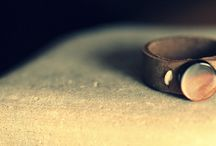 Leather Rings / Horween Leather Rings by 10mStraps/StarDotCreations