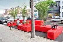 Straat meubilair en ideeën voor de buiten ruimte