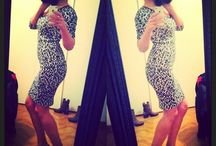 My dress in Black & White!!!! / I shopped this dress !!!! Do you like !? Black &White Style!!!!! Tomorrow in My Blo !!!