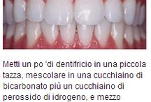 Sbiancare denti