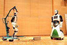 Robótica y Robots Humanoides / Imágenes, información y futuro de los robots humanoides y la robótica   http://www.tecnonauta.com/
