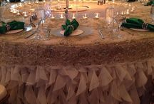 Emerald and Gold Weddings / The combination is nothing but regal and elegant.