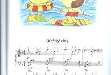 Klavír - noty