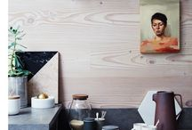 Wood in the kitchen / Solid, veneer, faux - so many choices and all of them stunning