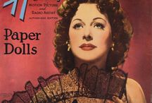 Hedy Lamar paper doll