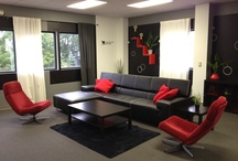 Modern Office Lounge