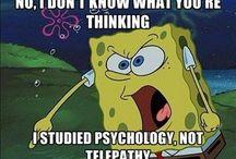 Psychology. / by Ashley Reeder