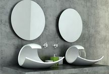 Sink designs / For bathrooms and kitchens