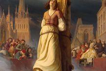 Joana d'Arc é Queimada na Fogueira - Hermann Stilke