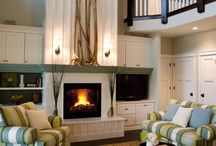 Beautiful Living Rooms, Family Rooms, Great Rooms / by Beth Steelman