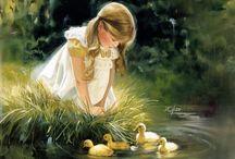 Dziecko w malarstwie