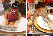 {Decor} Thanksgiving Table Setting ideas