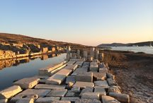 Delos Island / DELOS: THE ISLAND OF APOLLO, AN ARCHAEOLOGICAL TREASURE