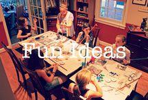 Fun ideas! / Fun ideas for your family!