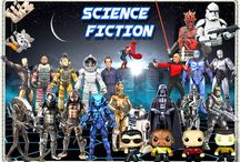 SCIENCE FICTION PRODUCTS / Here you will find products related to science fiction.