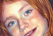 Christina. Papagianni / Coloured pencil artist