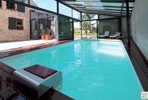 Aménagements Extérieurs/piscine / swimming pool dans le jardin