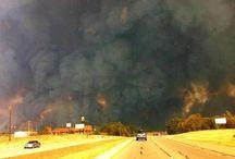 Texas..Fire, Heat, Hurricanes / by Anne McErlean